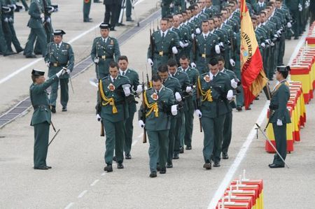 Uni n oficiales oficiales de la guardia civil se sienten for Ministerio del interior guardia civil