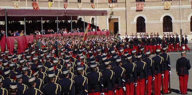 """Los oficiales del Ejército formados con el Plan Bolonia """"carecen de disciplina"""""""